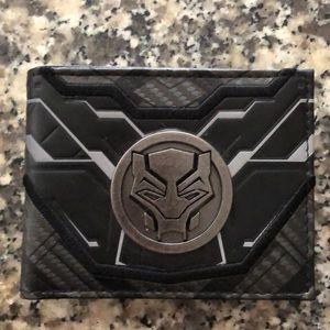Men Black Panther Wallet